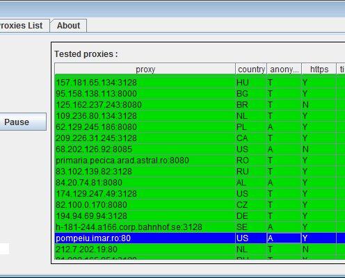 Free Proxy Switcher